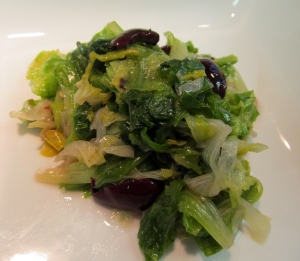escarole w onions & olives