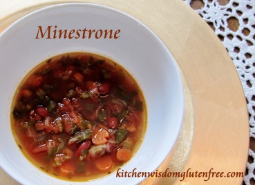 minestrone- - w writing