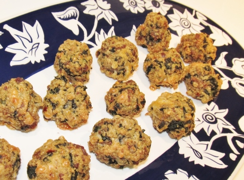 sausage & spinach bocconcini - Copy