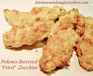 1 polenta battered zucchini w writing