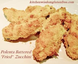 1 polenta battered zucchini w writing