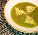 1 Creamy Broccoli Soup Roman Style