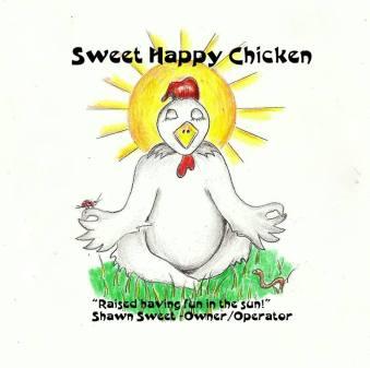 sweet happy farms label
