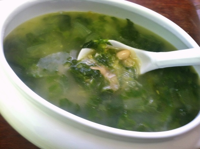 escarole & bean soup