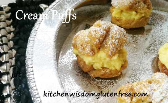 cream puff 1 - w writing