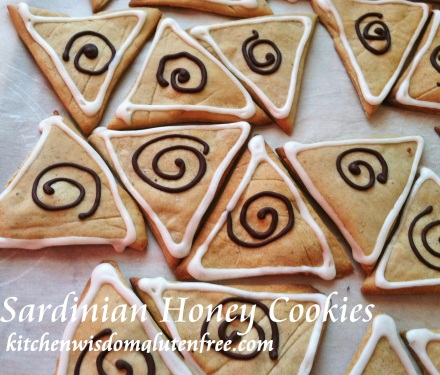 sardinia honey cookies