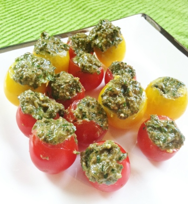pesto-cherry-tomatoes